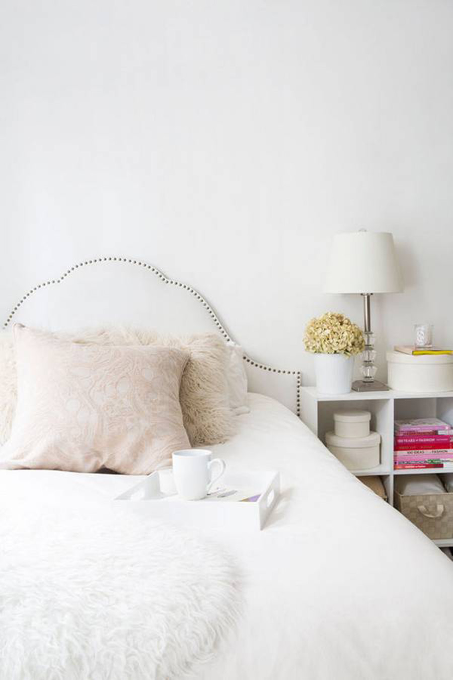 Fresh White Bedroom Inspiration, Home Tour on A Side Of Vogue