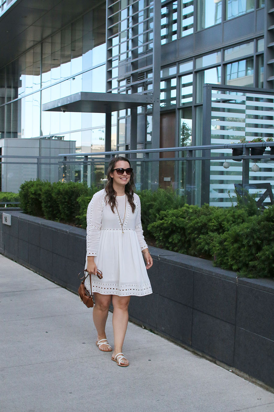 dress-with-long-sleeves-summer-outfit-ideas