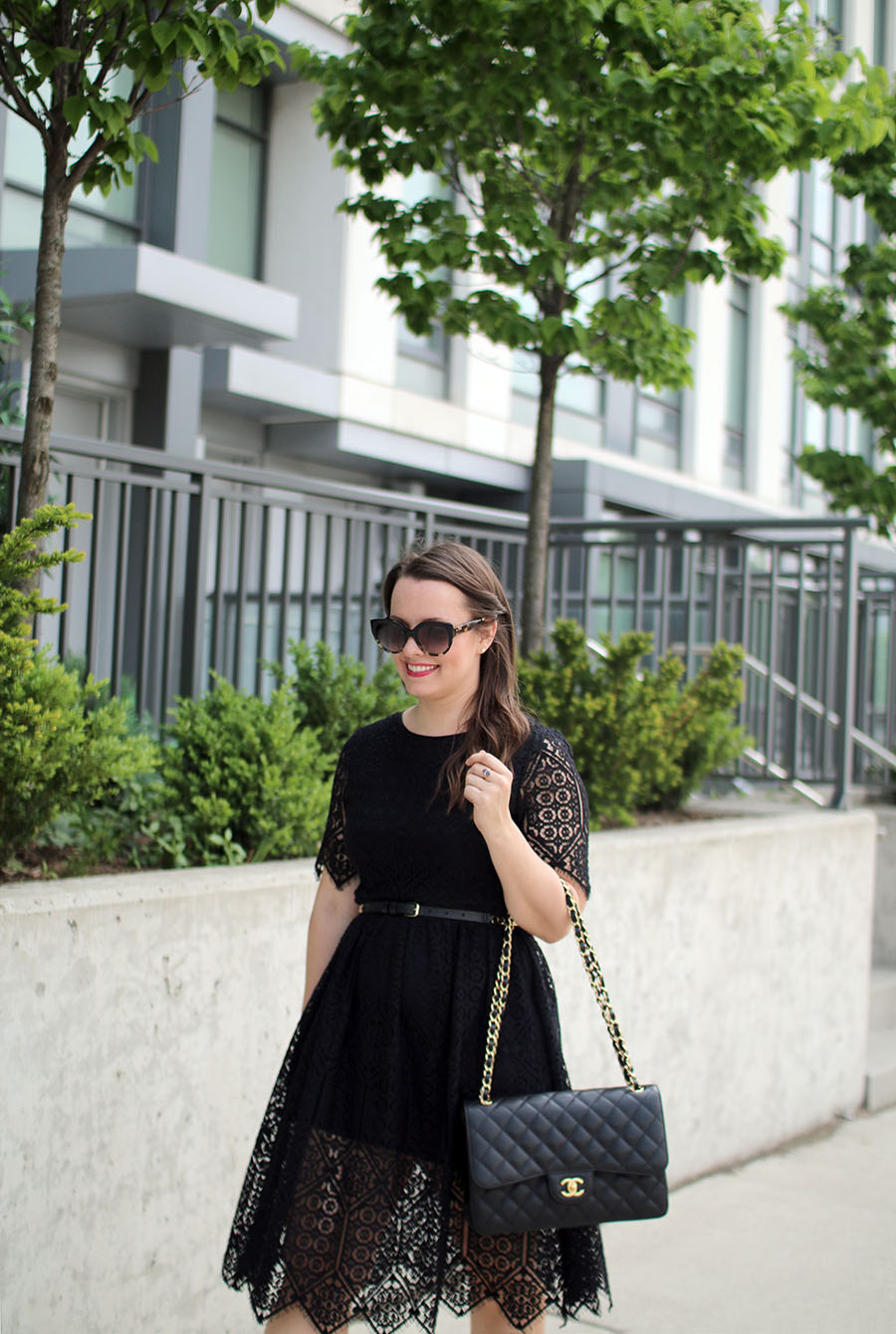 black-lace-party-dress-fashion-inspiration