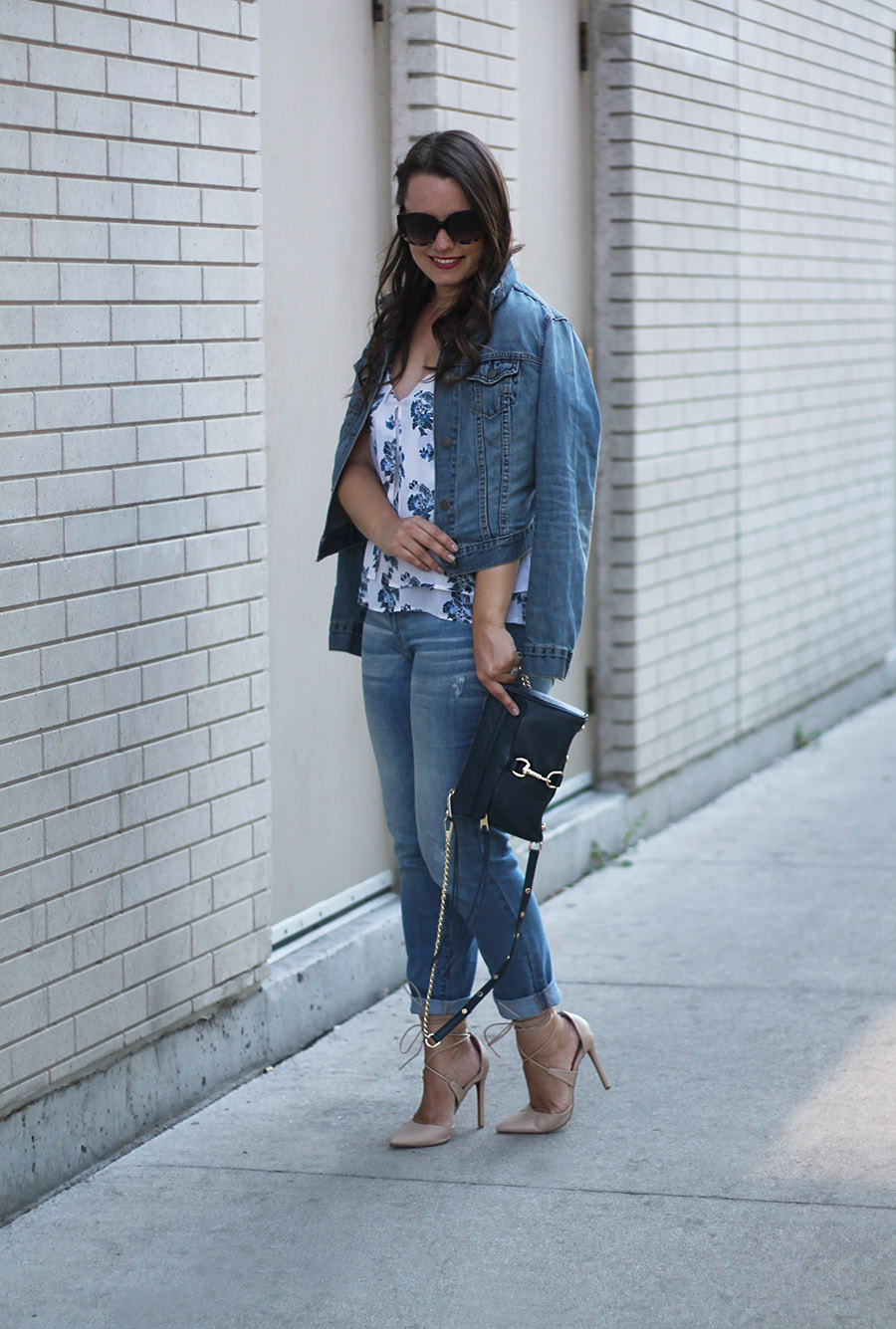 Outfit // The Canadian Tuxedo