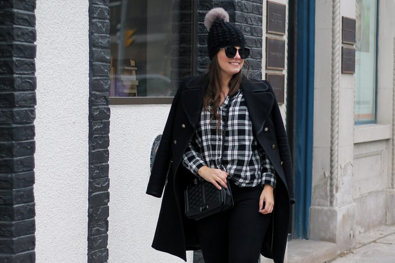 Outfit // A Pop Of Plaid