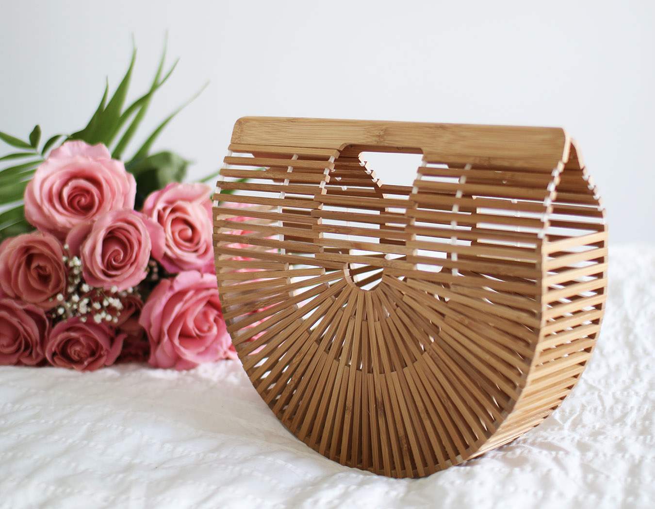 New Spring Summer Handbag // Cult Gaia Bag, Bamboo Ark Clutch
