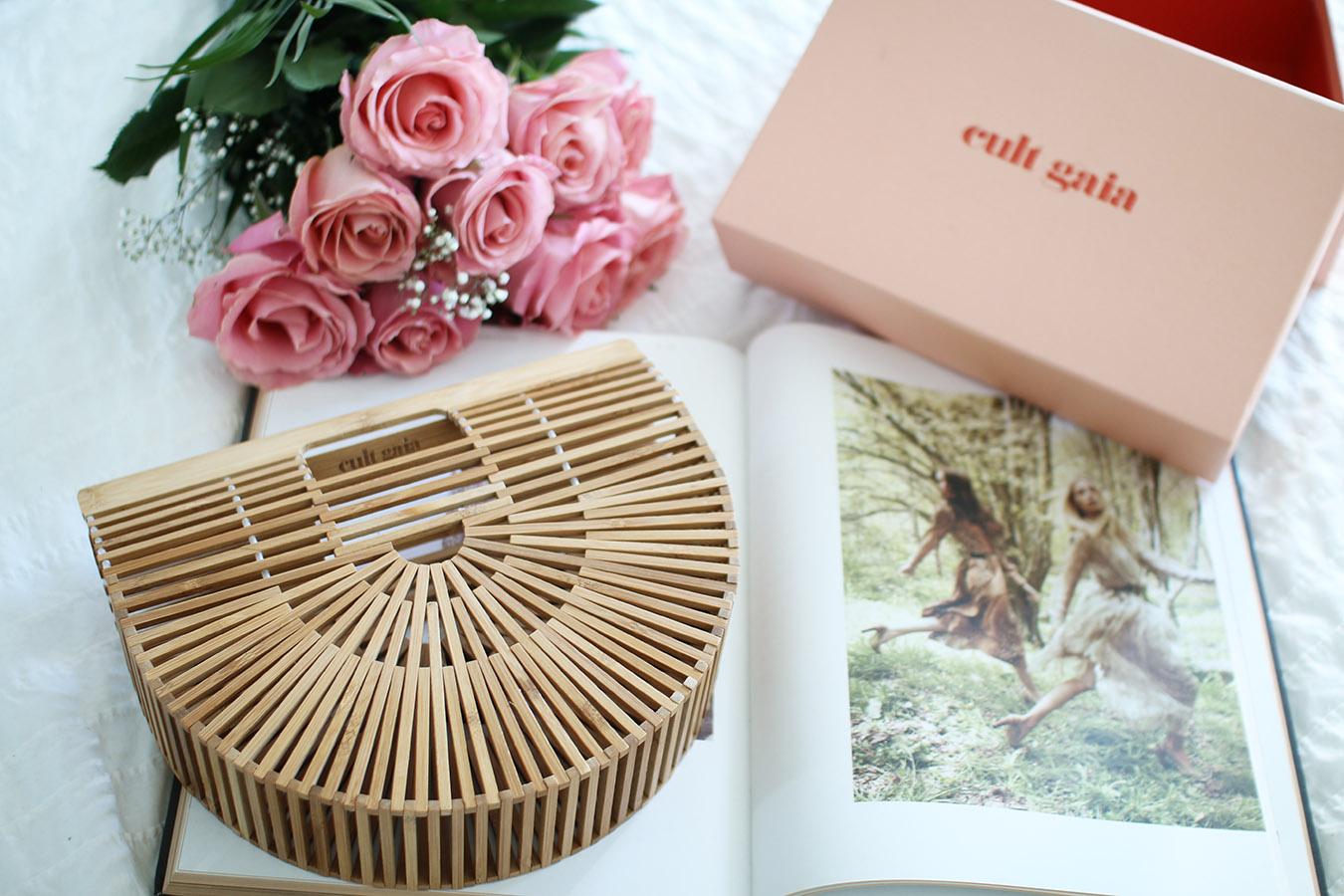 Cult Gaia Bag, Bamboo Ark Clutch, Spring Summer Handbag via A Side Of Vogue