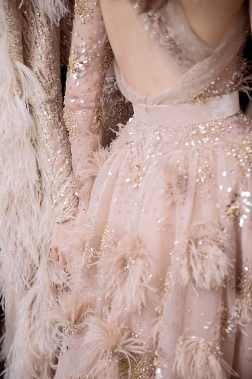 Blush-Pink-Wedding-Dress-Inspiration-Evening-Gown