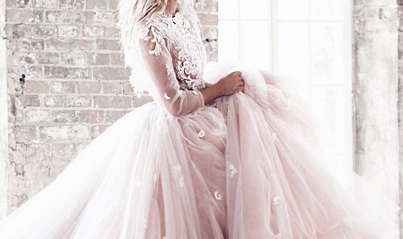 Blush Pink Wedding Color Inspiration Moodboard
