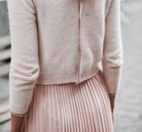 Pink-Skirt-Sweater-Blush-Color-Inspiration