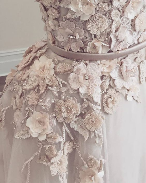 Romantic-Blush-Pink-Wedding-Dress-Inspiration-Bridal-Color-Ideas