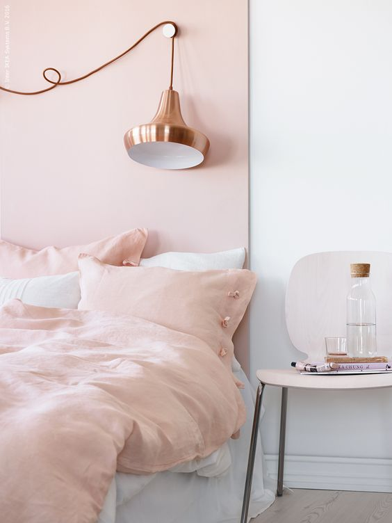 pink-copper-bedroom-inspiration-home-decor-ideas