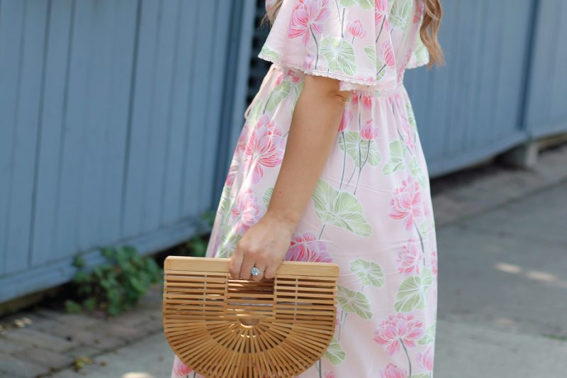 Outfit // Pink Maxi Dress