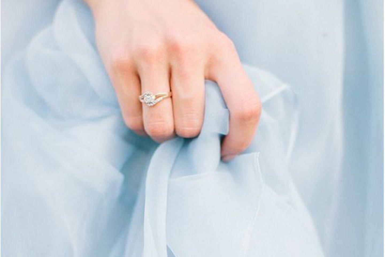 Aquamarine Blue Wedding Color Inspiration Moodboard