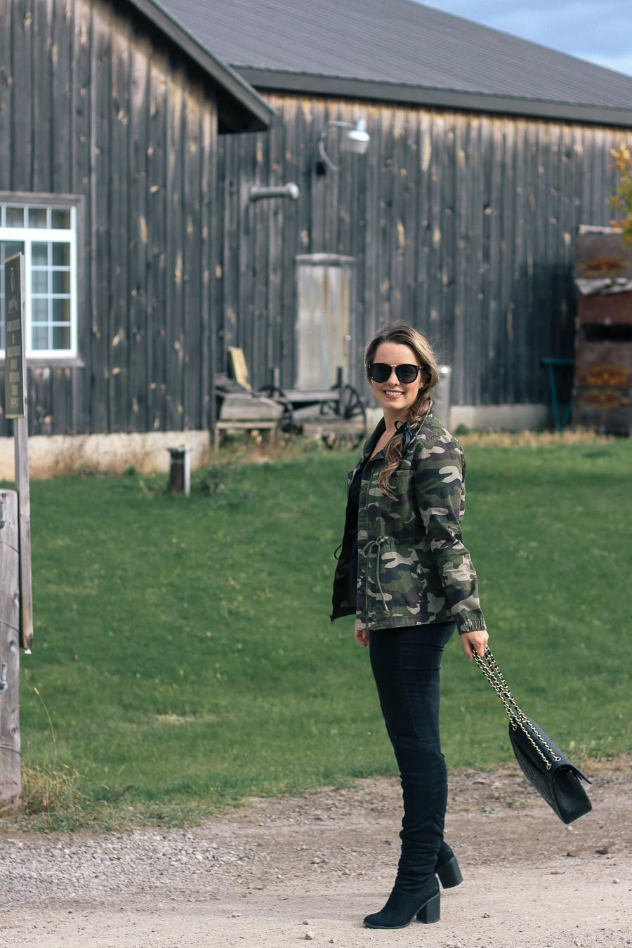 Outfit // How To Wear A Camouflage Jacket