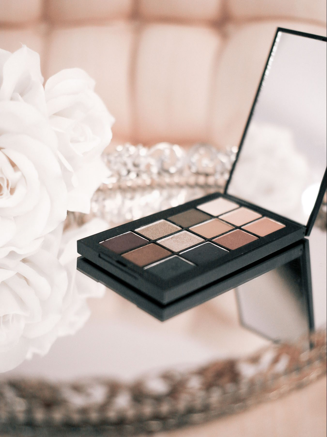 NARS eyeshadow palette, makeup products
