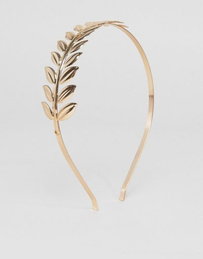 Gold Leaf Hair Band
