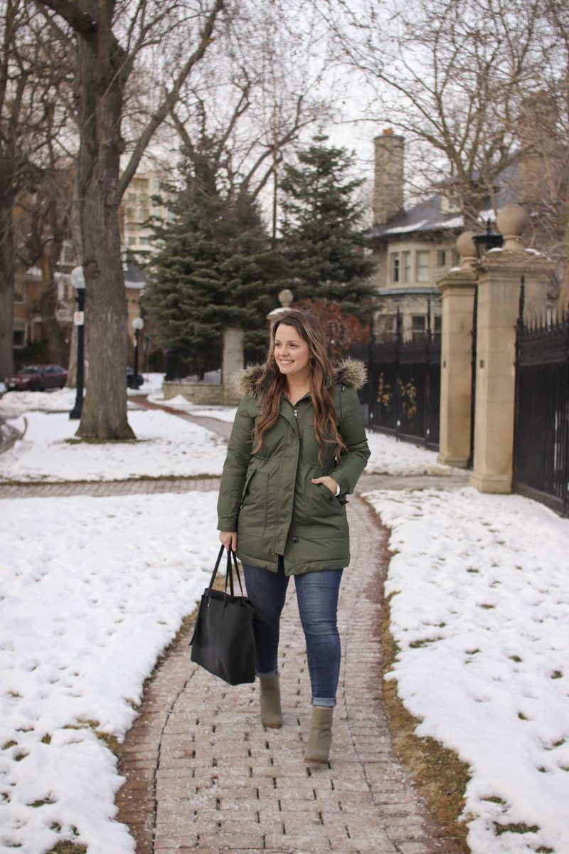 5db967f1dac Green-Winter-Coat-Canadian-Blogger-Toronto-Fashion-22 | A Side Of Style