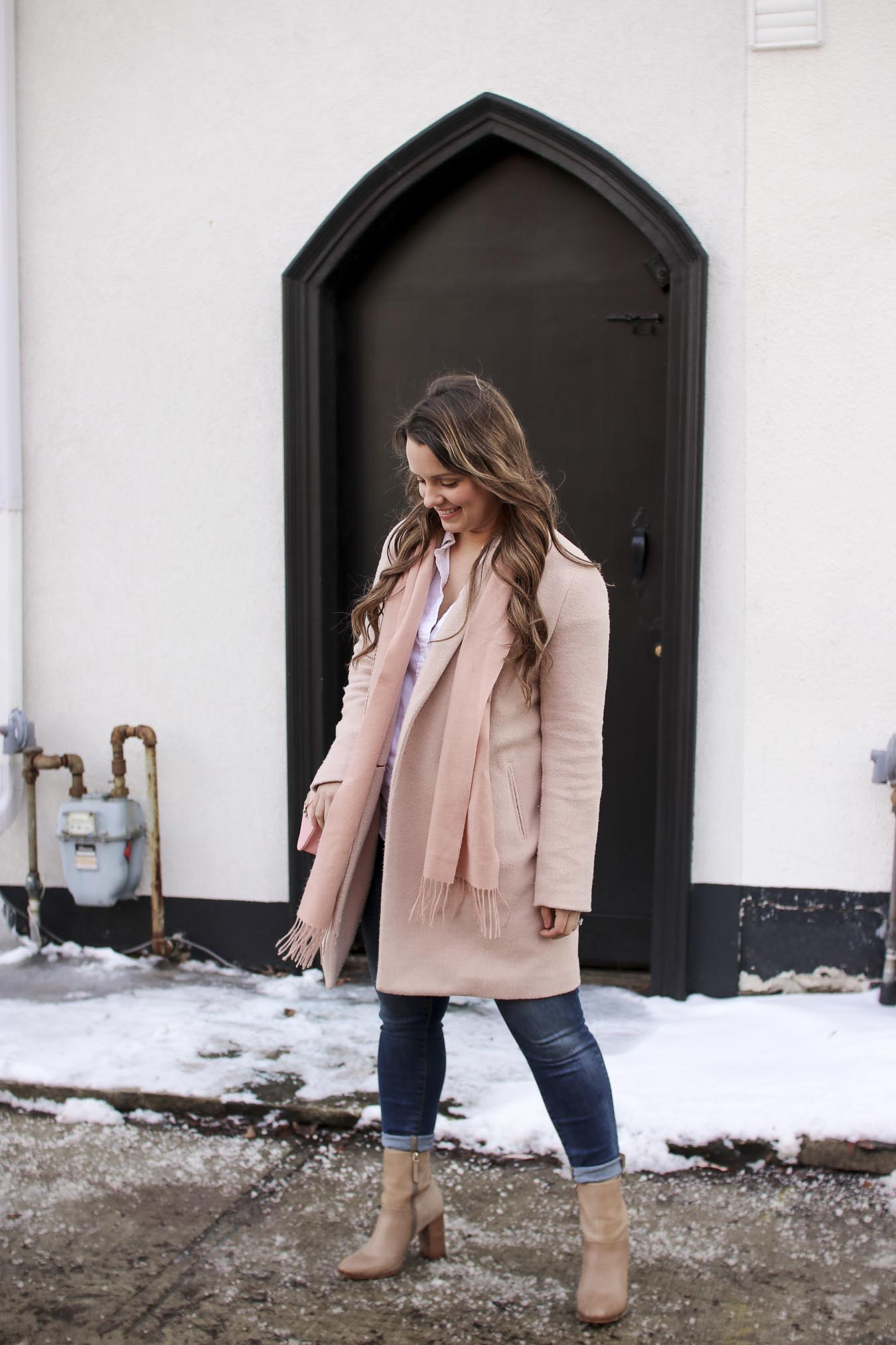 Outfit // Shades Of Blush Pink