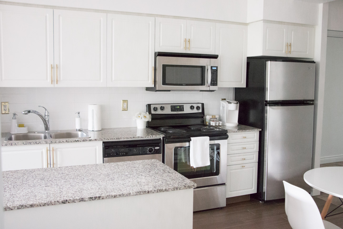 Small Kitchen Ideas My Condo Home Tour Before After
